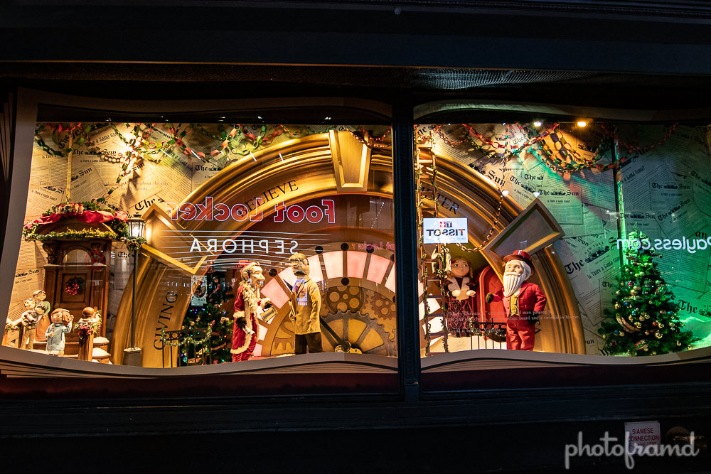 Nyc Christmas Windows 2018 Macy S Herald Square Photoframd Com