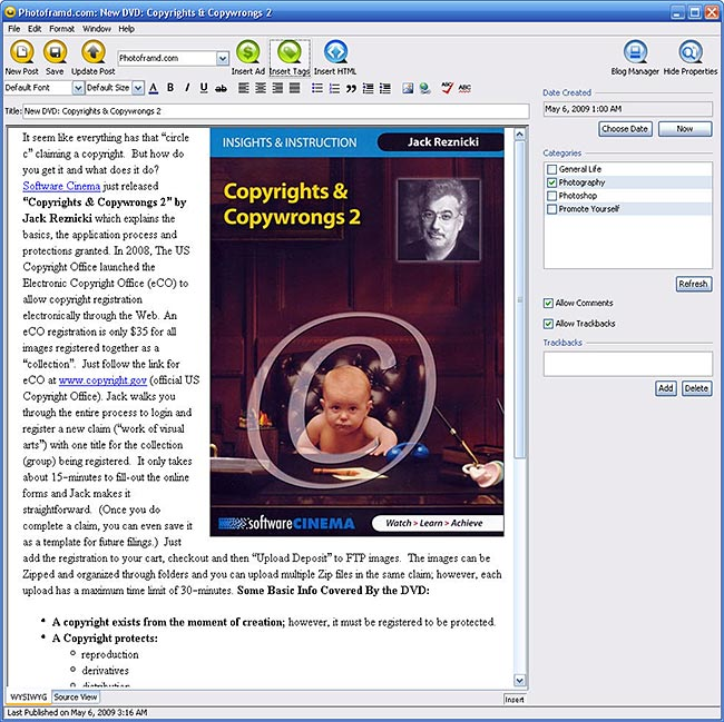Qumana Editor 3.2.3