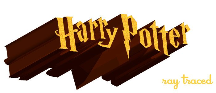 harrypotter-raytraced