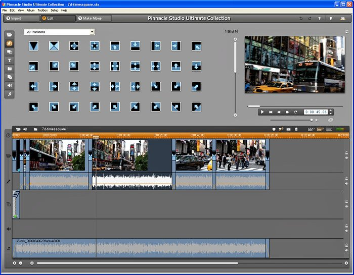 how to add multiple transitions in one clip premiere