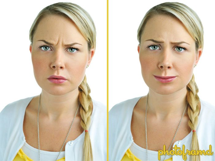 Photoshop CS5 – Puppet Warp turns a Frown into a Smile – photoframd com