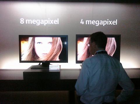 Canon 8K LCD Protoypes