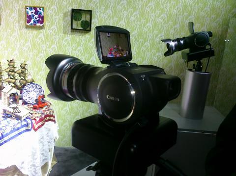 Canon 4K Conept Camera/Camcorder