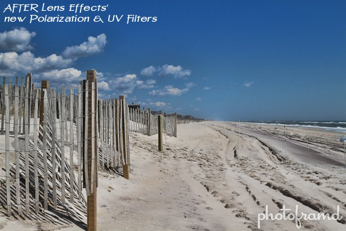 Topaz Labs Lens Effects 1 1 adds new UV & Polarization Filters