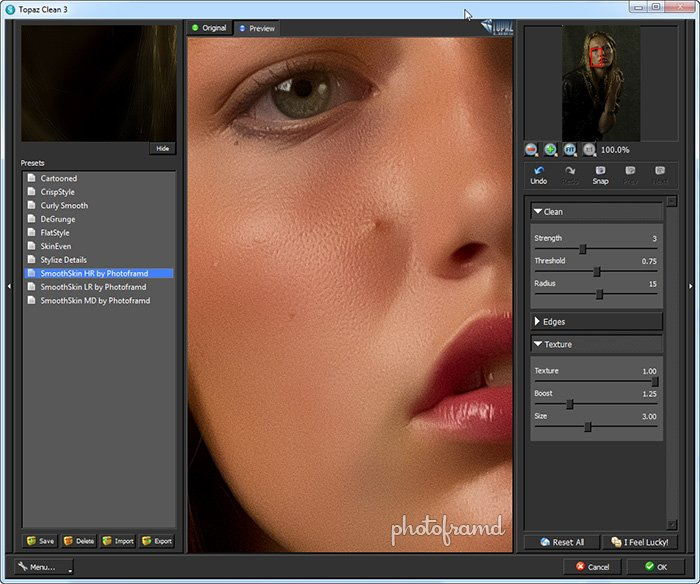 Photoshop CS5 – Quick and Easy Portrait Retouching with Topaz Labs