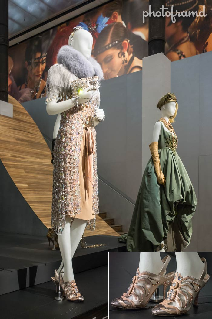 photos � the great gatsby costumes on display at prada