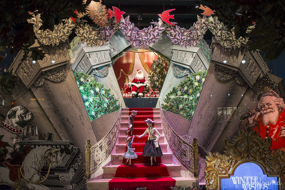 Lord Amp Taylor Best Nyc Christmas Window Display 2013